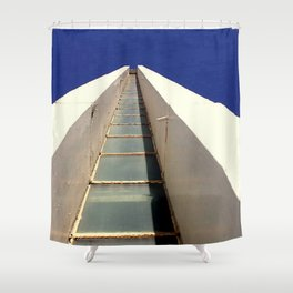 Cape Jervis Lighthouse Shower Curtain