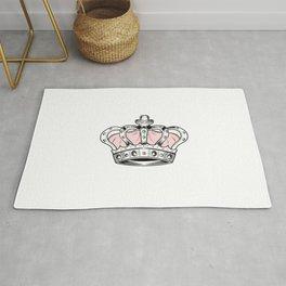 Crown - Pink Rug