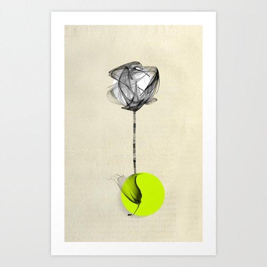 Green Monday Art Print