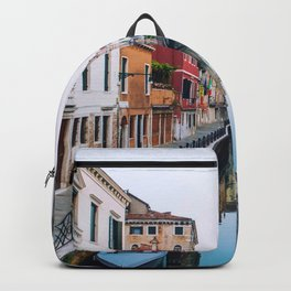 City on Water (Color) Backpack