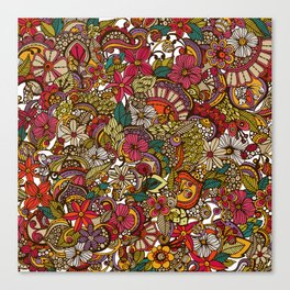 I spy... in colors Canvas Print