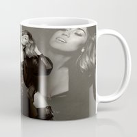 miley cyrus Mugs featuring Miley Cyrus by BreakoutStore