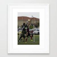 quidditch Framed Art Prints featuring Quidditch by Mollie Evans