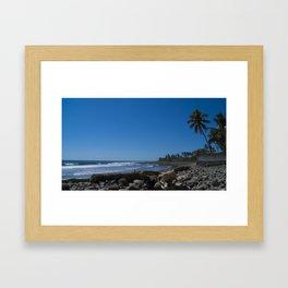 San Blas Beach Framed Art Print