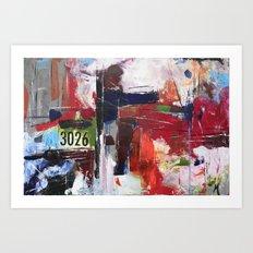 3026 Art Print