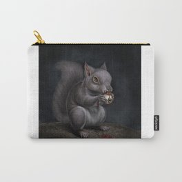 Squirrel Eye Carry-All Pouch