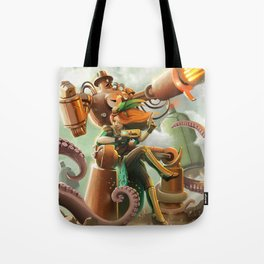 A Quiet Brunch at the Shrewsberry Circus Tote Bag