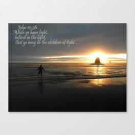 Nature's Light Canvas Print