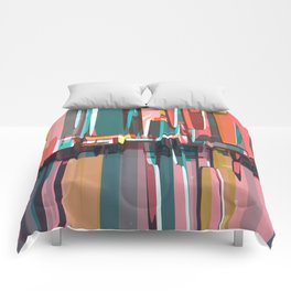 Abstract Composition 639 Comforters