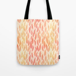 Watercolour Leaves Tote Bag