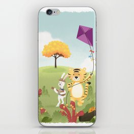 Tiger and Rabbit iPhone Skin