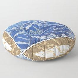 A PRAYER FOR AFGHANISTAN Floor Pillow