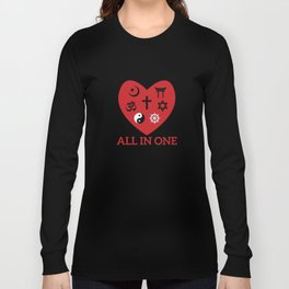 All in one Long Sleeve T-shirt