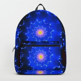 Mosaic in Blue Backpack