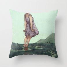 Closure Throw Pillow