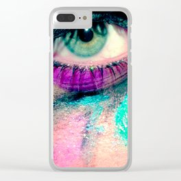 v-bes Clear iPhone Case