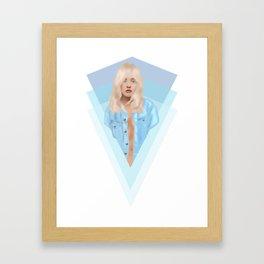 xtina Framed Art Print