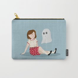 The Girl and the Ghost Carry-All Pouch