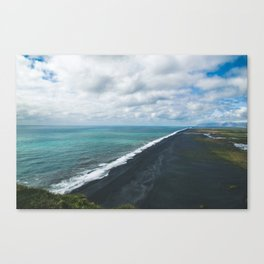 Endless Coastline Canvas Print