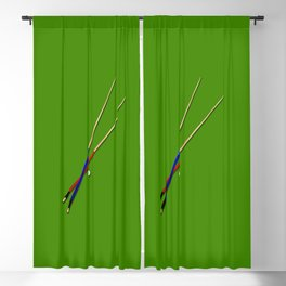 Snooker Cues Blackout Curtain