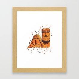 Mamik and Babik Framed Art Print