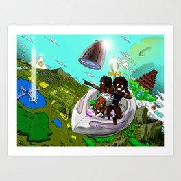 Epic Adventures Art Print