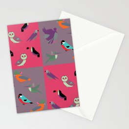 Birds pattern6 Stationery Cards