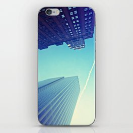 Skyscrapers and Contrail iPhone Skin