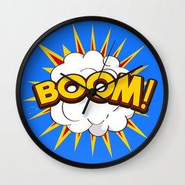 BOOM! limited edition Blue edition Wall Clock