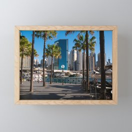 Sydney Circular Quay Framed Mini Art Print