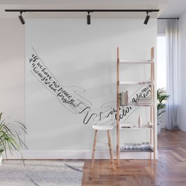 We Belong to Each Other Wall Mural