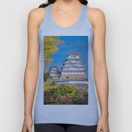 Himeji Castle in autumn in Japan. Unisex Tank Top
