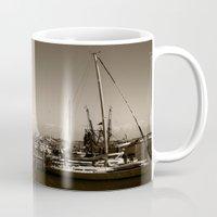 salt water Mugs featuring Salt water sound  by Sandiest Photography