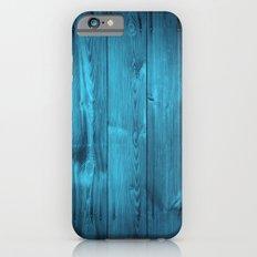 Blue Wood Planks iPhone 6 Slim Case