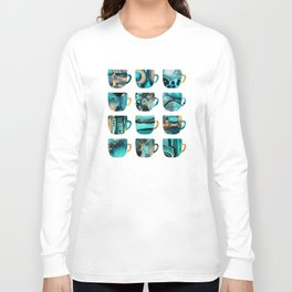 My Favorite Coffee Cups Long Sleeve T-shirt