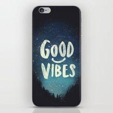 GOOD VIBES V.2 iPhone & iPod Skin