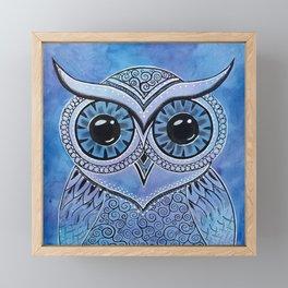 Owl 156 Framed Mini Art Print