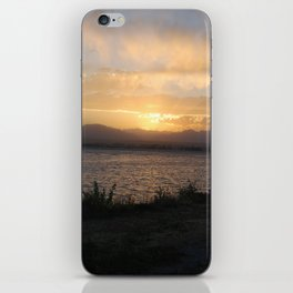 Sunset on Stanley iPhone Skin
