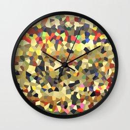 Crystal Math Wall Clock