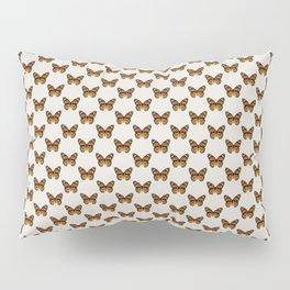 Monarch Butterfly Pattern Pillow Sham