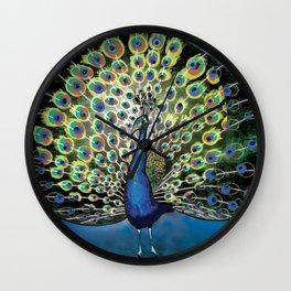 Paon / Peacock Wall Clock