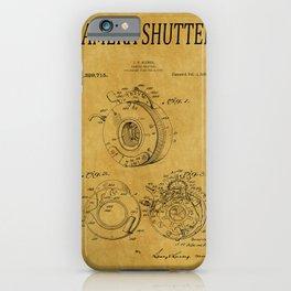 Camera Shutter Patent 1 iPhone Case