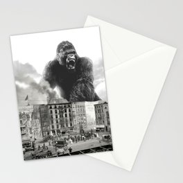 King Kong and the 1904 Fire Department Stationery Cards