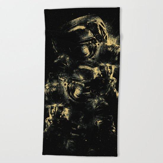 Lost in Space Beach Towel