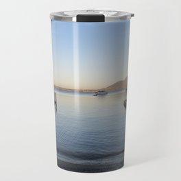 Sunset at Lake Taupo Travel Mug