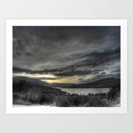 Estampa invernal Art Print