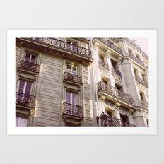 Parisian Architecture Art Print