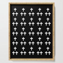 Christian Cross 1 Serving Tray