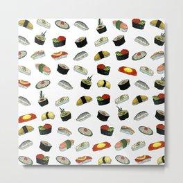 Sushi Ala Carte (Sushi Arakaruto) Metal Print
