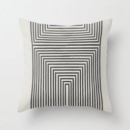 Tribal Modern Boho Art Throw Pillow